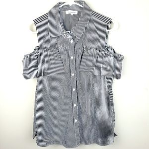 Calvin Klein | Striped Button Down